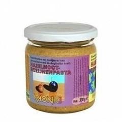 Monki Hazelnoten-rozijnenpasta eko (330 gram)