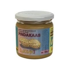 Monki Pindakaas met zout eko (330 gram)