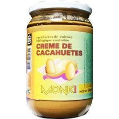 Monki Pindakaas met zout eko (650 gram)