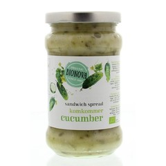 Bionova Sandwichspread komkommer (280 gram)