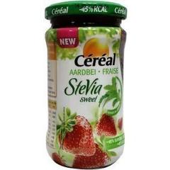 Cereal Confituur aardbei (225 gram)