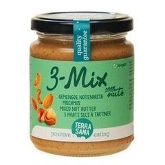Terrasana 3 mix notenpasta zonder pinda (250 gram)