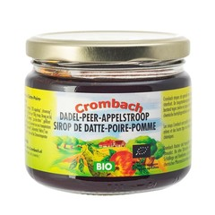 Crombach Appel-peren-dadelstroop (330 gram)