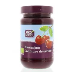 Ekoland Kersenjam familiepot (375 gram)