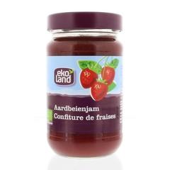 Ekoland Aardbeienjam familiepot (375 gram)
