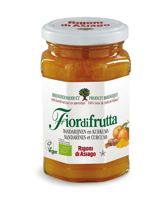 Fiordifrutta Fiordifrutta Mandarijn & kurkuma jam (260 gram)
