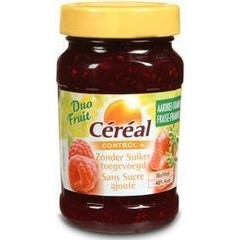 Cereal Fruit aardbei framboos suikervrij (270 gram)