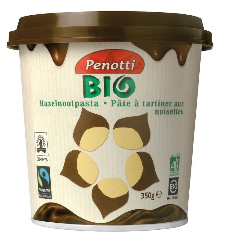 Penotti Penotti Hazelnootpasta fair trade (350 gram)