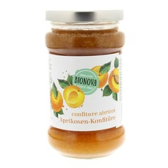 Bionova Abrikozen jam (340 gram)