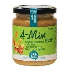 Terrasana Gemengde notenpasta zonder zout (250 gram)