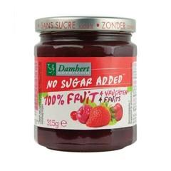 Damhert 100% 4 Vruchten confiture (315 gram)
