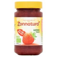 Zonnatura Fruitspread aardbei 75% (250 gram)
