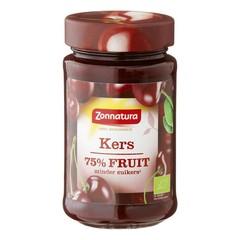 Zonnatura Fruitspread kers 75% (250 gram)