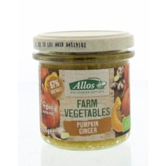 Allos Farm vegetables pompoen & gember (135 gram)