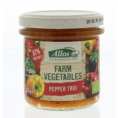 Allos Farm vegetables pepper trio (135 gram)