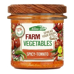 Allos Farm vegetables pittige tomaat (135 gram)