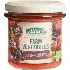 Allos Farm vegetables tomaat & olijf (135 gram)