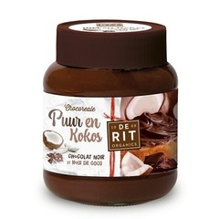 De Rit Chocoreale pure chocopasta kokos (350 gram)