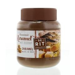 De Rit Chocoreale chocopasta karamel & zeezout (350 gram)