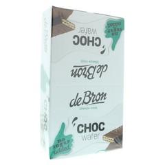 De Bron Choco wafer 1 doos (24 stuks)