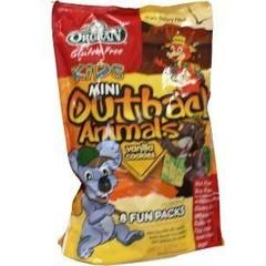 Orgran Animal koekjes vanille uitdeelzak (175 gram)
