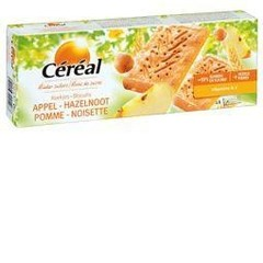 Cereal Appel hazelnoot koek (230 gram)