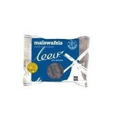 Leev Bio choco maiswafels melk (128 gram)