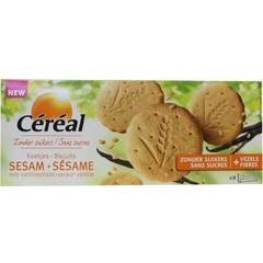Cereal Sesam vanille koek (132 gram)