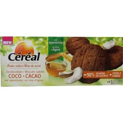 Cereal Cacao kokos koek (132 gram)