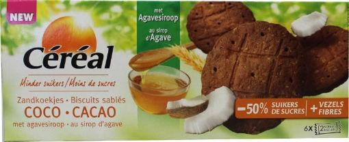 Cereal Cereal Cacao kokos koek (132 gram)