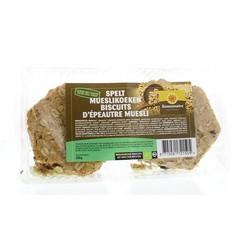 Zonnemaire Spelt mueslikoeken (240 gram)