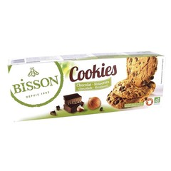 Bisson Cookies chocolade hazelnoot (200 gram)