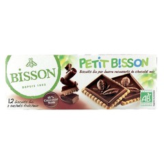 Bisson Theebiscuit pure chocolade (150 gram)