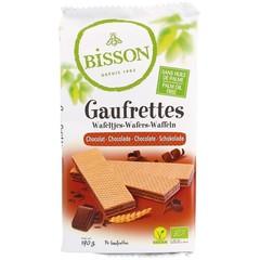 Bisson Wafels chocolade (190 gram)
