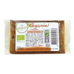 Bisson Regamiel honing-kruidkoek per 2 (20 gram) verpakt (2 stuks)