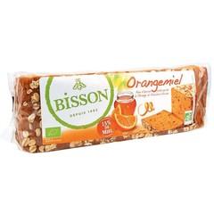 Bisson Orangemiel honingkoek met sinaasappel voorgesneden (300 gram)