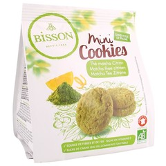 Bisson Mini cookies matcha thee citroen (120 gram)