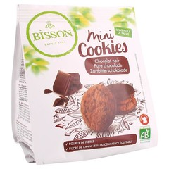Bisson Mini cookies pure chocolade (120 gram)
