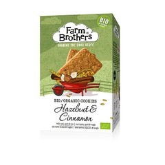 Farm Brothers Hazelnoot & kaneel koekjes (150 gram)