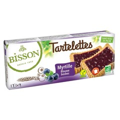 Bisson Tartelette bosbes (145 gram)