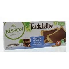 Bisson Tartelette choco hazelnoot (150 gram)