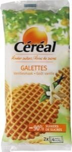 Cereal Cereal Galetten suikervrij (175 gram)