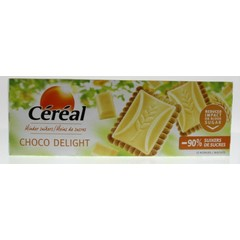 Cereal Koek chocolate delight wit (126 gram)