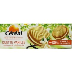 Cereal Duette vanille suikervrij (150 gram)