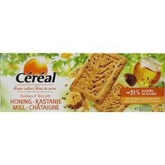 Cereal Koekjes honing/kastanje (200 gram)