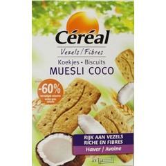 Cereal Koekjes muesli/cocos (200 gram)