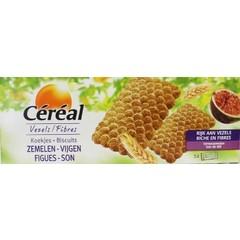 Cereal Koekjes zemelen/vijgen (210 gram)