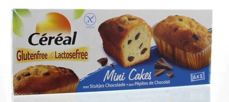 Cereal Cereal Cake mini choco glutenvrij (230 gram)
