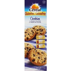 Cereal Cookies choco glutenvrij (150 gram)