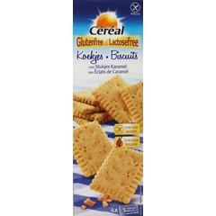 Cereal Koek met caramel glutenvrij (150 gram)